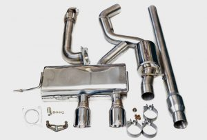 NL Tuning Golf R20 2.0T 3″ Performance Exhaust System