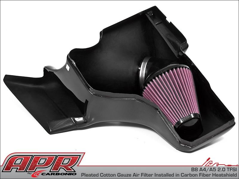 Apr Carbonio Audi 2 0 1 8 Tfsi Tdi Carbon Fiber Cold Air Intake System Next Level Tuning